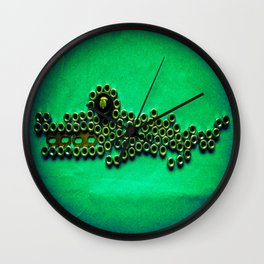 Night Habitat ...Baby Caiman Wall Clock