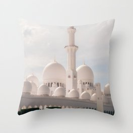 The Grandest Mosque Throw Pillow