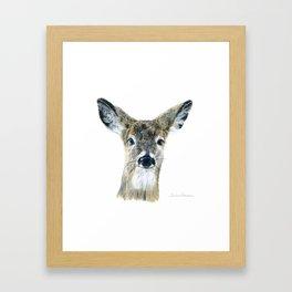 Doe Eyes by Teresa Thompson Framed Art Print