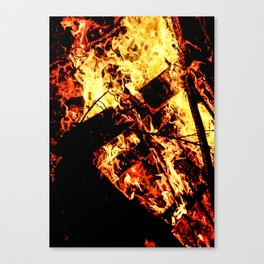 In Flames #5 Canvas Print