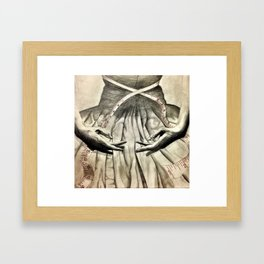 Synched Framed Art Print