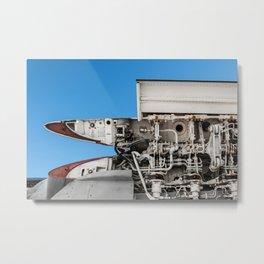 Fold Metal Print