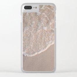 Beach Bubbles in Destin, FL Clear iPhone Case