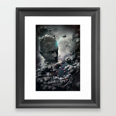Northern Sky Framed Art Print