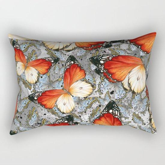 Butterflies #2 Rectangular Pillow