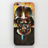 darth vader iPhone & iPod Skins featuring Darth Vader  by Mishel Robinadeh