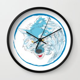 00 - WOLF Wall Clock