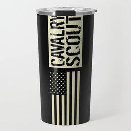 Cavalry Scout (Black Flag) Travel Mug