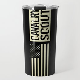 Cavalry Scout (Black Flag) Travel Mug