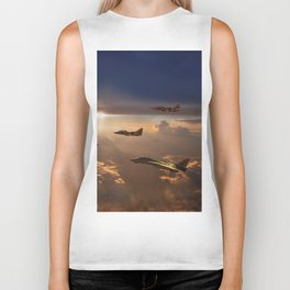 The Flight Home Biker Tank