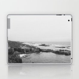 CALIFORNIA COAST V (B+W) / Fort Bragg, CA Laptop & iPad Skin