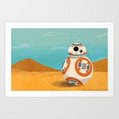 The Little Droid That Could Art Print