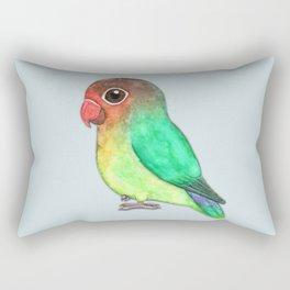 Cute fisheri lovebird Rectangular Pillow