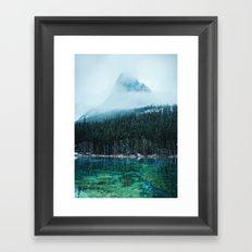 Grassi Lakes III Framed Art Print