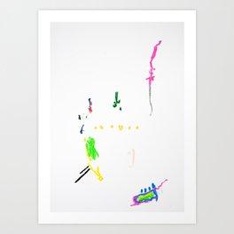 Shapes VI Art Print
