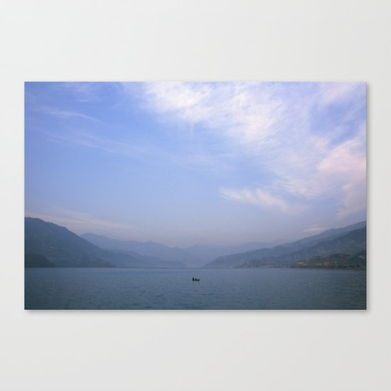 the fisherman's commute Canvas Print