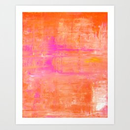 Straight Forward Art Print