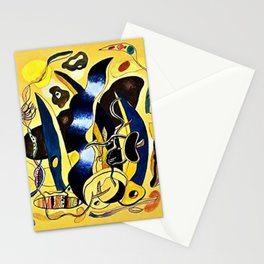Abstract Composition by Fernand Léger Stationery Cards