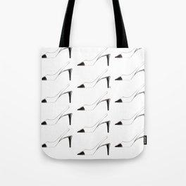 Black & White shoes Tote Bag