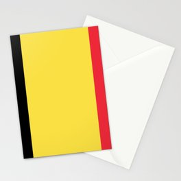 Flag of Belgium Black Yellow Red Stationery Cards