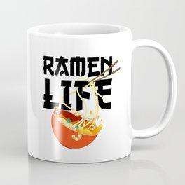 Ramen Life Fun Ramen Noodle Bowl Anime Lovers Coffee Mug