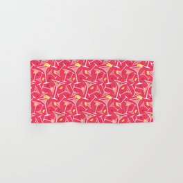 Pink Martinis Hand & Bath Towel