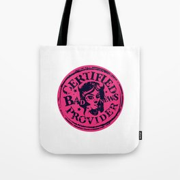 Bad News Provider Official Certification Tote Bag