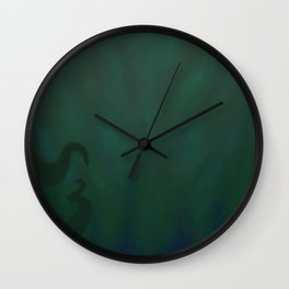 Drowning Wall Clock
