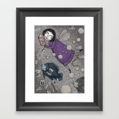Stories in the Sky Framed Art Print
