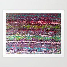 Fuzzy Sweater II Art Print