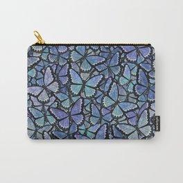 blue Hera butterflies aflutter Carry-All Pouch