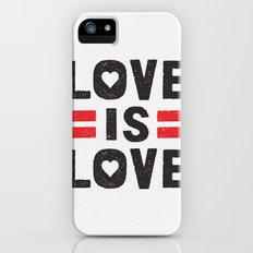 Love is Love Slim Case iPhone (5, 5s)