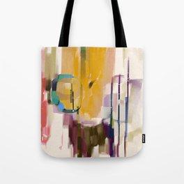 Traveler Among the Spires Tote Bag