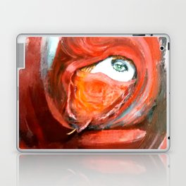 Lady in Veil Laptop & iPad Skin