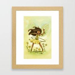 Goblins Drool, Fairies Rule - Hula Hoop  Framed Art Print