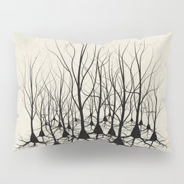 Pyramidal Neuron Forest Pillow Sham