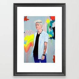 Heyman Framed Art Print