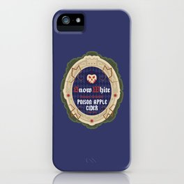Snow White Poison Apple Cider iPhone Case