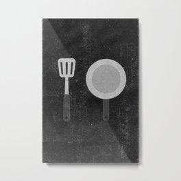 Cook Metal Print