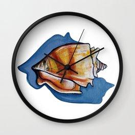 Shell one Wall Clock