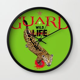 EARTH+LIFE GUARD Wall Clock