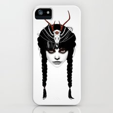 Wakeful Warrior - In Red iPhone (5, 5s) Slim Case