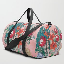 The Domesticated Jungle - Floral Still Life Duffle Bag