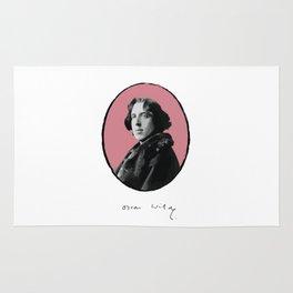 Authors - Oscar Wilde Rug