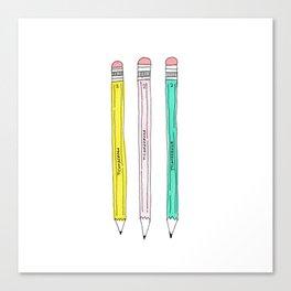 ticonderoga pencils Canvas Print