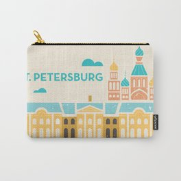 St. Petersburg Fountains Carry-All Pouch