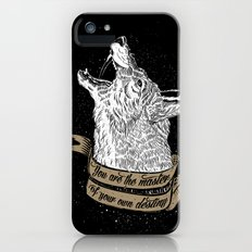 Wolf Protector (Black n Bronze collection) Slim Case iPhone (5, 5s)