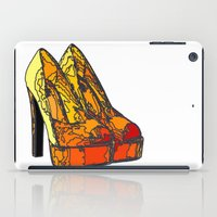 shoe iPad Cases featuring Shoe 3 by AstridJN