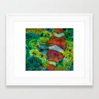 scuba Framed Art Prints featuring Scuba by DARWIN STEAD