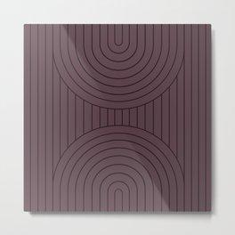 Arch Symmetry XVII Metal Print